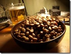 Boilded beans